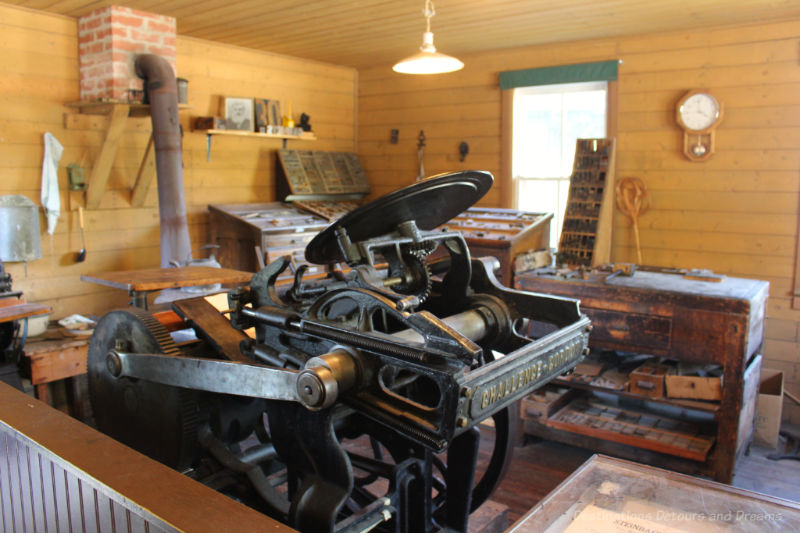 Old printing equipment