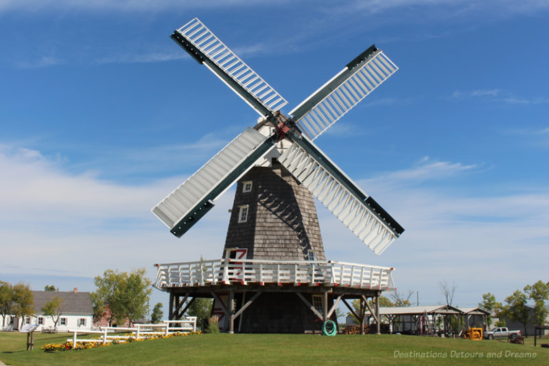Windmill at the Mennonite Heritage Village