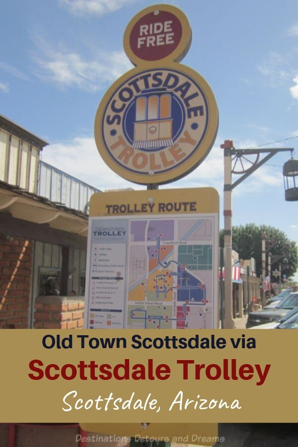 Exploring Old Town Scottsdale, Arizona and beyond on the Scottsdale Trolley #Arizona #Scottsdale #trolley