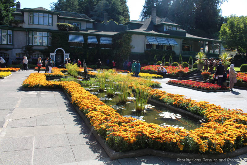 Italian Garden at The Butchart Gardens