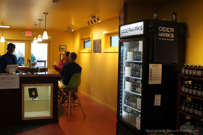 Cidery tasting room
