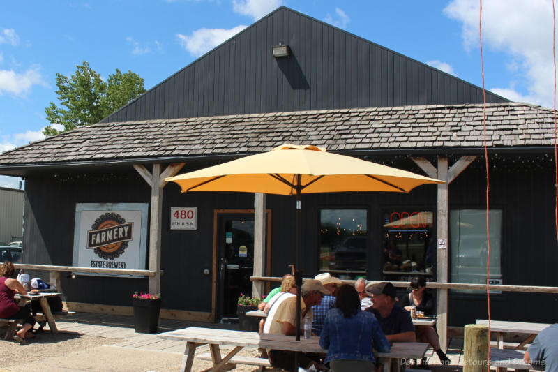Farmery is the first estate craft brewery in Canada