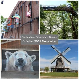 Destinations Detours and Dreams October 2019 Newsletter