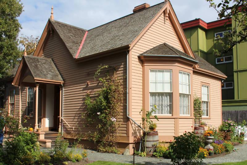 The Gothic-Revival 1865 Ross Bay Villa in Victoria, British Columbia
