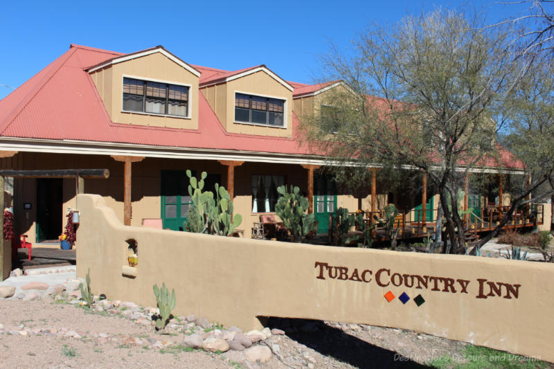 Adobe inn at Tubac