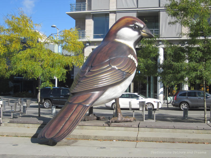 The Birds - part of Vancouver Public Art