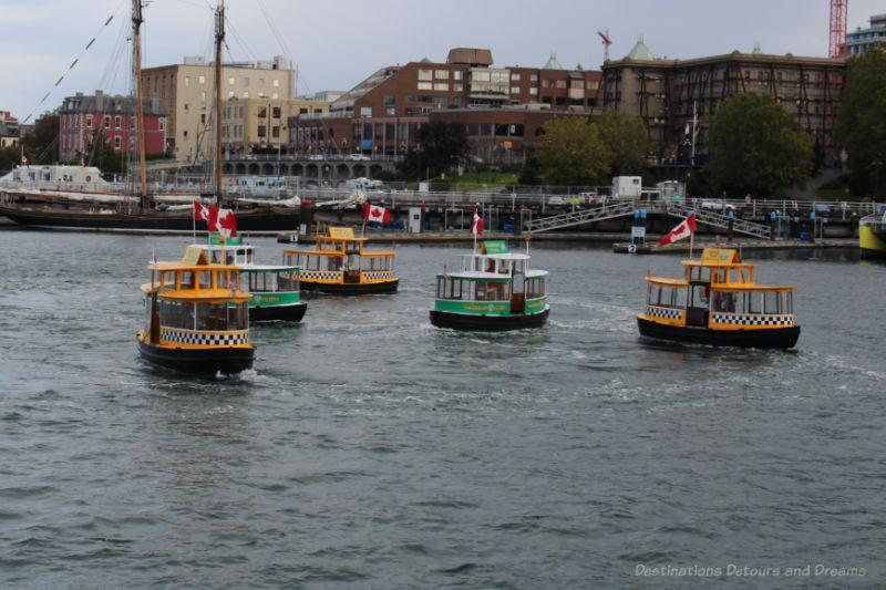 Victoria Harbour Ferry Water Ballet