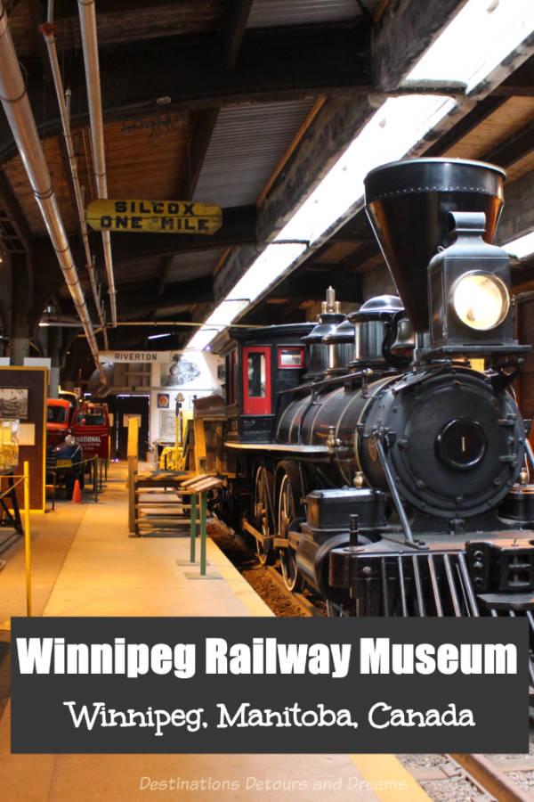 Winnipeg Railway Museum - showcasing railway history in Winnipeg, Manitoba, Canada #Winnipeg #Manitoba #Canada #railway #museum #history