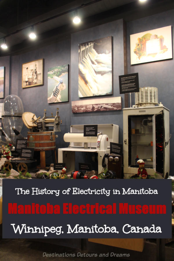 The Manitoba Electrical Museum in Winnipeg, Canada follows the history of Manitoba's electricity from the 1870s to the present and into the future. #Winnipeg #Manitoba #Canada #museum #history