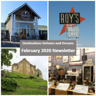 Destinations Detours and Dreams February 2020 Newsletter