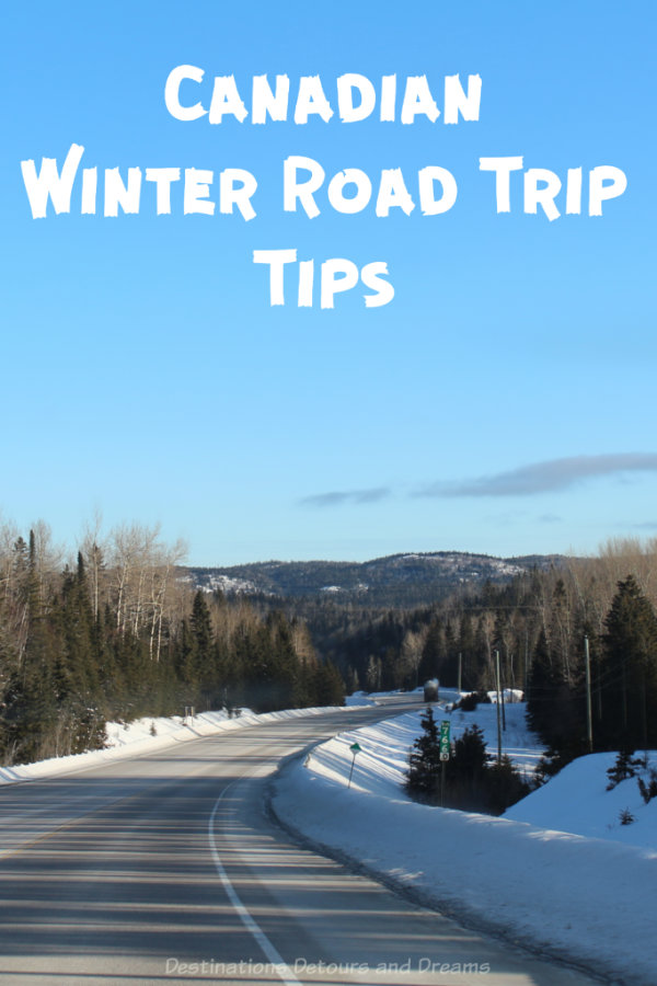 Canadian Winter Road Trip Tips - Winter driving tips inspired by a Canadian cross-country road trip #Canada #traveltip #roadtrip #winter
