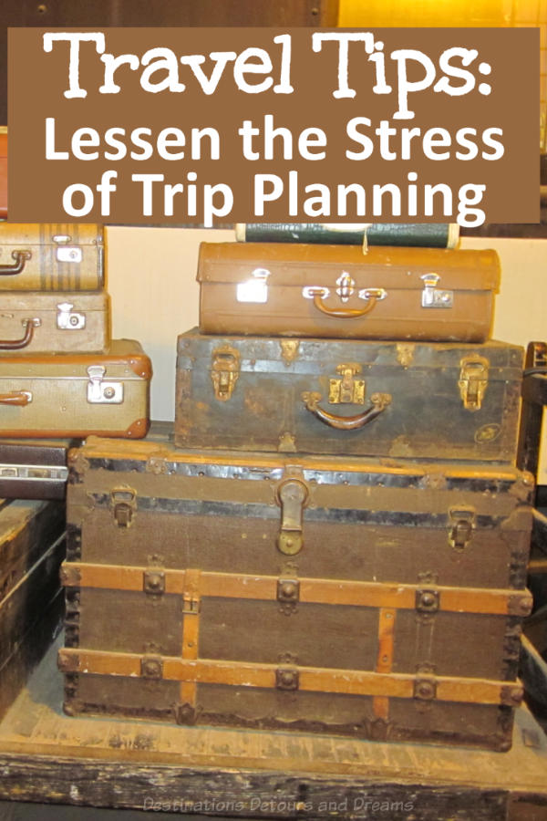Travel Tip: Take the Stress Out of Trip Planning #traveltip #travelplanning