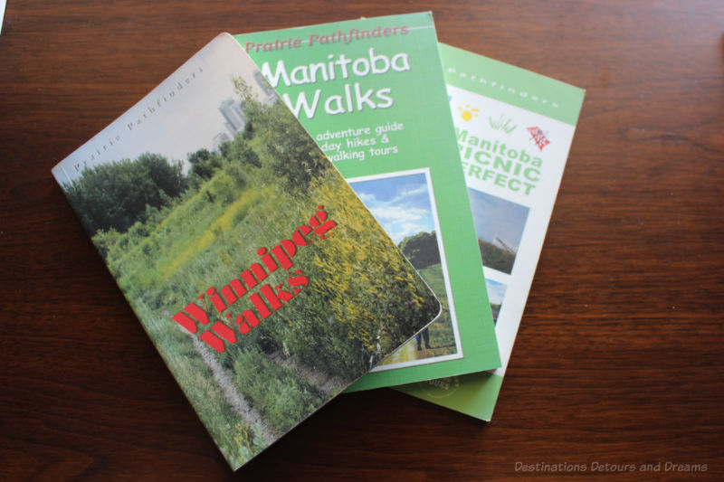 A selection of books on local walks and picnic areas