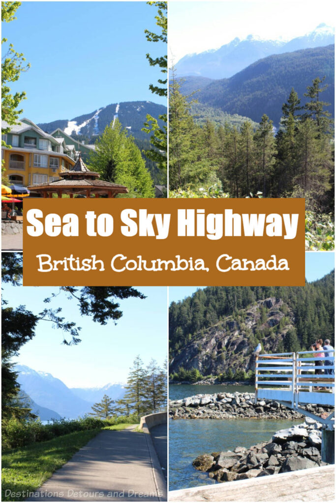 Canada's Sea to Sky Highway: The scenic road from Horseshoe Bay to Whistler on the west coast of British Columbia makes for a great day trip from Vancouver  #Canada #BritishColumbia #scenicdrive