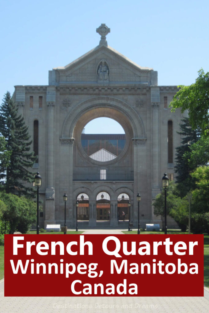 French-Canadian Culture and History  in Winnipeg, Manitoba, Canada - Attractions in the French Quarter of Winnipeg, Manitoba and beyond. #Winnipeg #Winnipeg #Manitoba #culture #FrenchCanadian #touristattraction