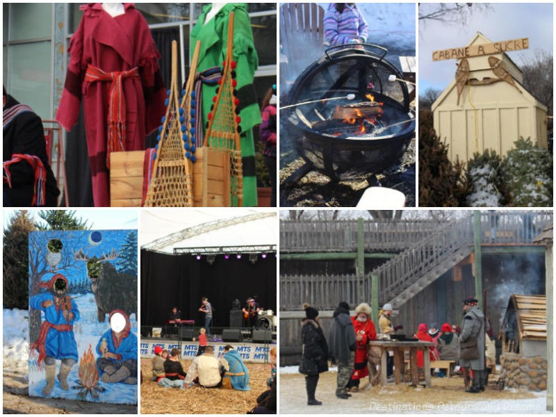 Assorted scenes from Festival du Voyageur