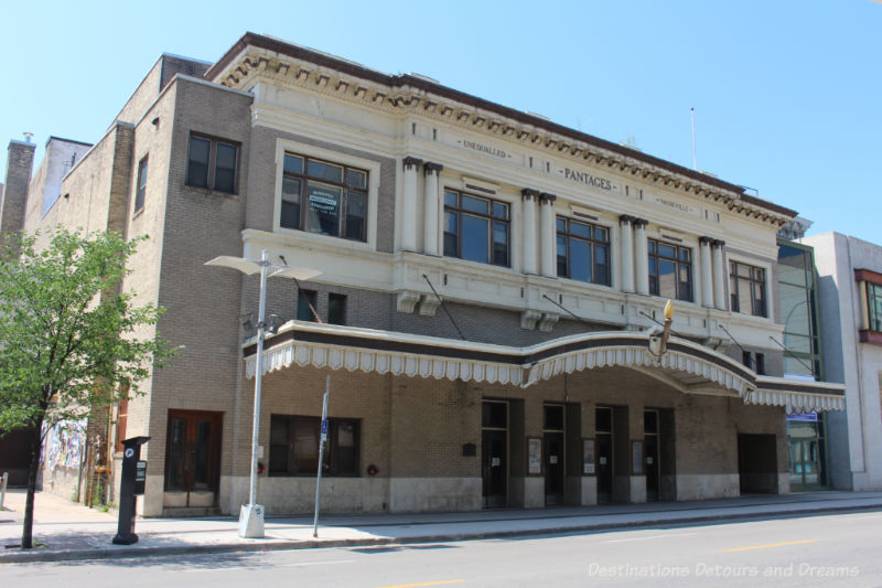 Pantages Playhouse Theatre in Winnipeg dates to 1914