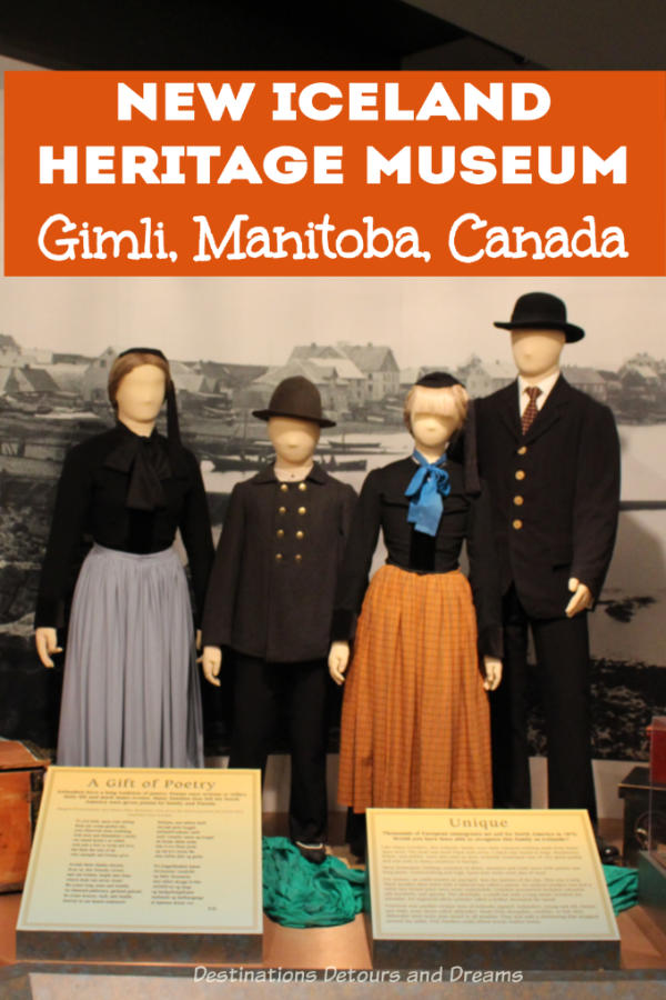 The New Iceland Heritage Museum in Gimli, Manitoba, Canada tells the story of Icelandic and other settlers in the area that was once known as New Iceland #Manitoba #heritage #museum #Canada #NewIceland #Gimli