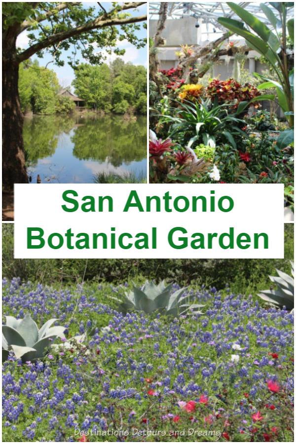 San Antonio Botanical Garden features Texas ecosystems and so much more #Texas #SanAntonio #botanic #garden
