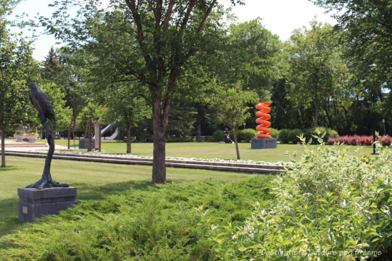 Gallery in the Park in Altona, Manitoba, Canada