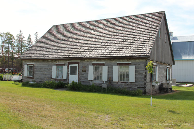 Log house built in 1878