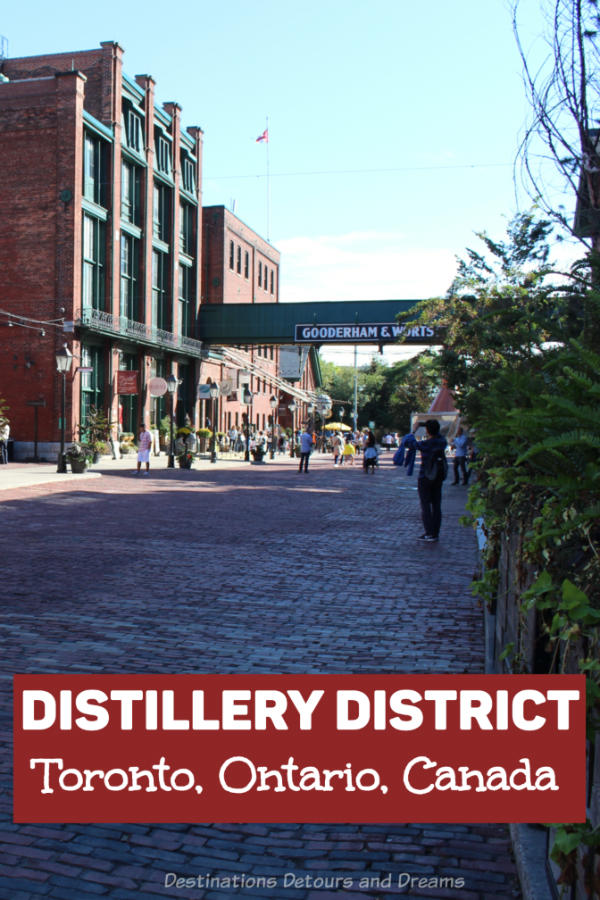 Toronto Distillery District: A Victorian industrial site in Toronto, Ontario, Canada is now an arts, culture, and entertainment destination and a top Toronto attraction