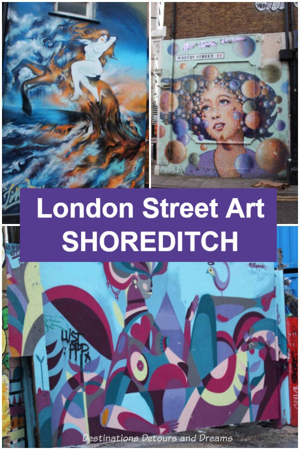 London Street Art in Shoreditch - The East End of London boasts an amazing and ever-changing collection of street art.