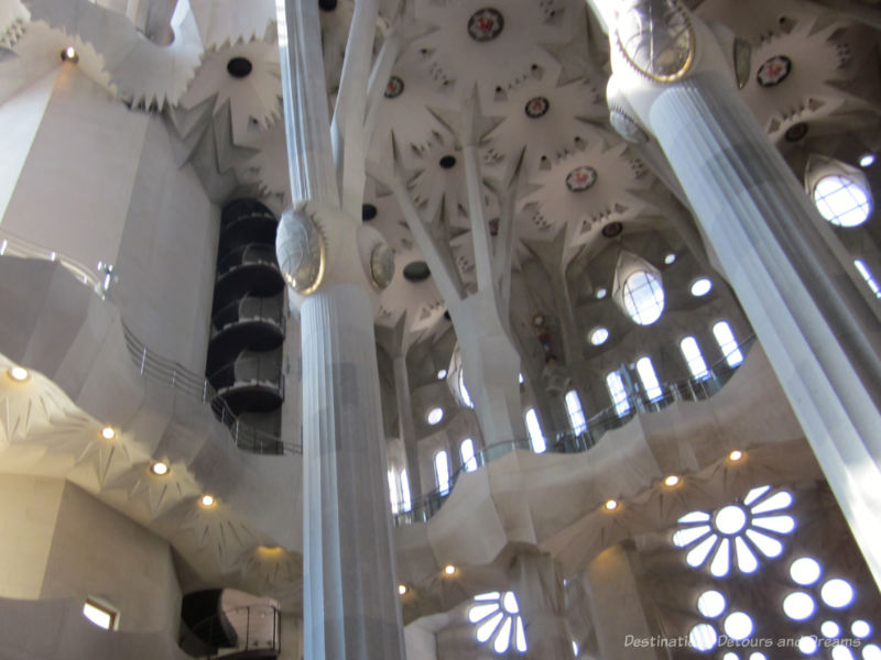 La Sagrada Família choir loft
