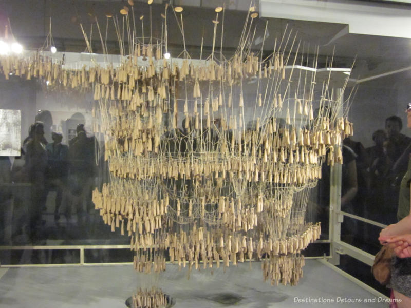 Hanging model of La Sagrada Família