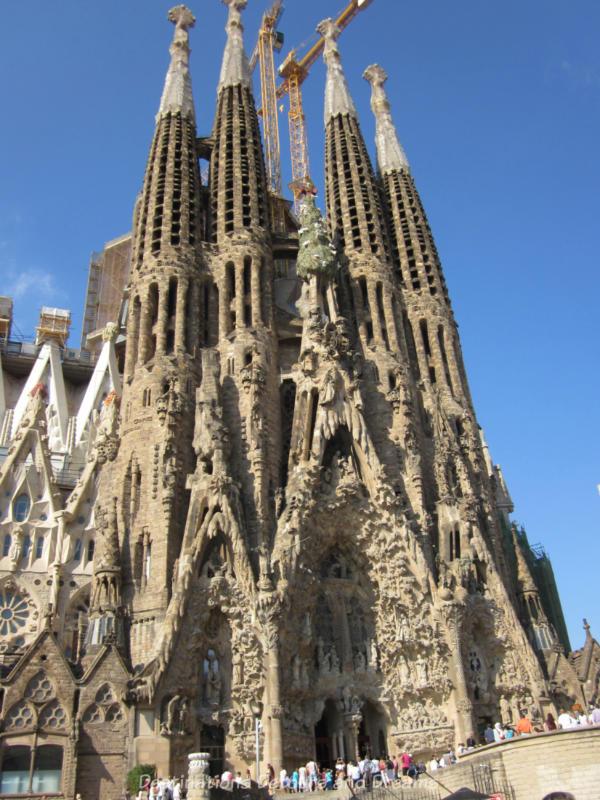 La Sagrada Família in Barcelona Spain