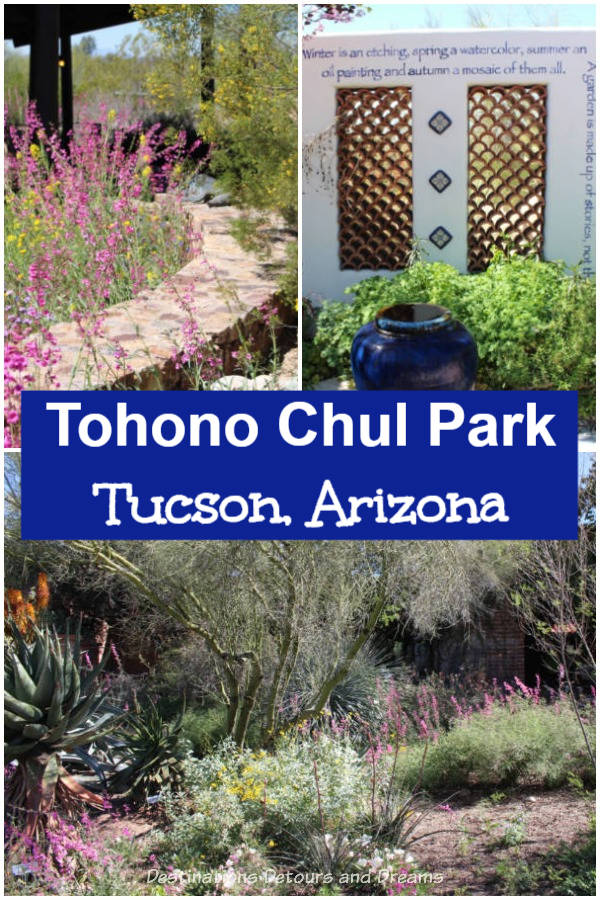 Tohono Chul Park in Tucson, Arizona: gardens, art, and desert beauty #Tucson #Arizona