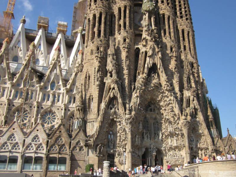 La Sagrada Família in Barcelona
