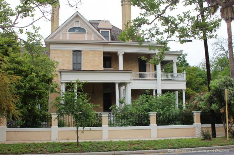 Brick masonry neoclassical heritage home