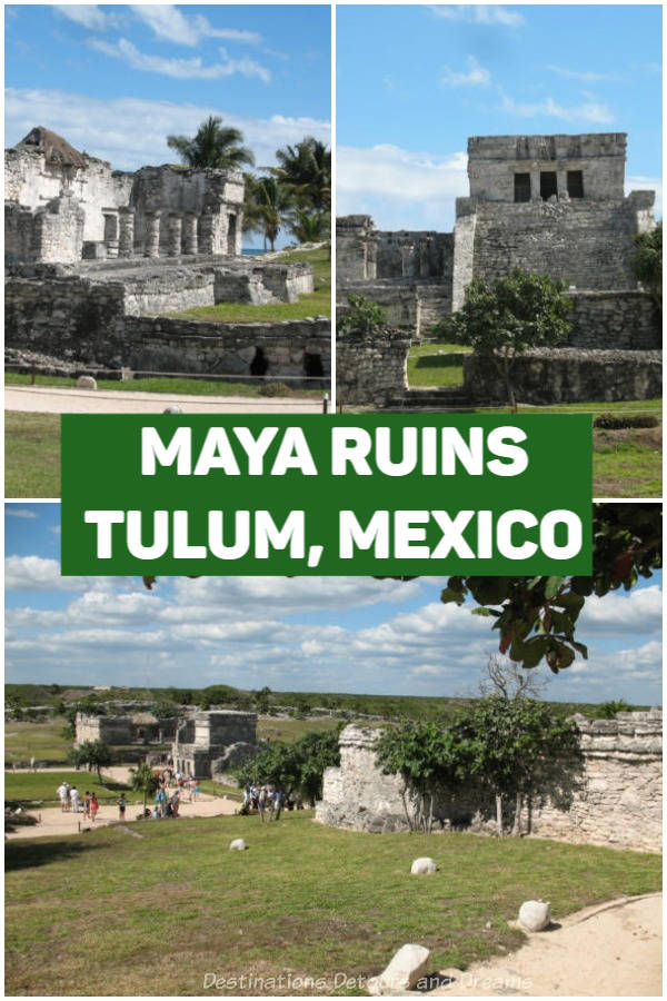 Tulum Maya Ruins: The ruins at the Tulum Archaeological Site are one of the best-preserved coastal Maya sites and the third most visited archaeology site in Mexico