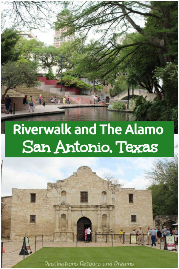 San Antonio Riverwalk and the Alamo: top attractions in San Antonio, Texas