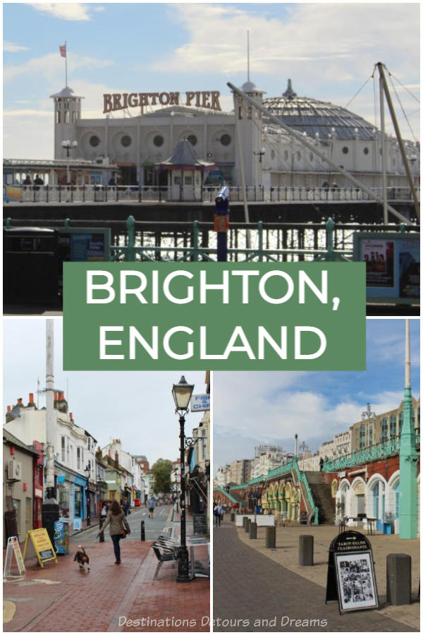 How to spend a a day in the quirky, colourful seaside city of Brighton in Sussex, England