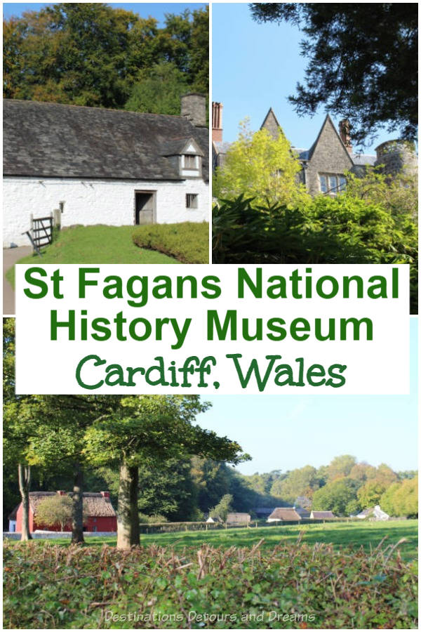 A Walk Through Welsh History. The outdoor St Fagans History Museum in Cardiff, Wales offers a look in Welsh history of all walks of life from Celtic times to present day