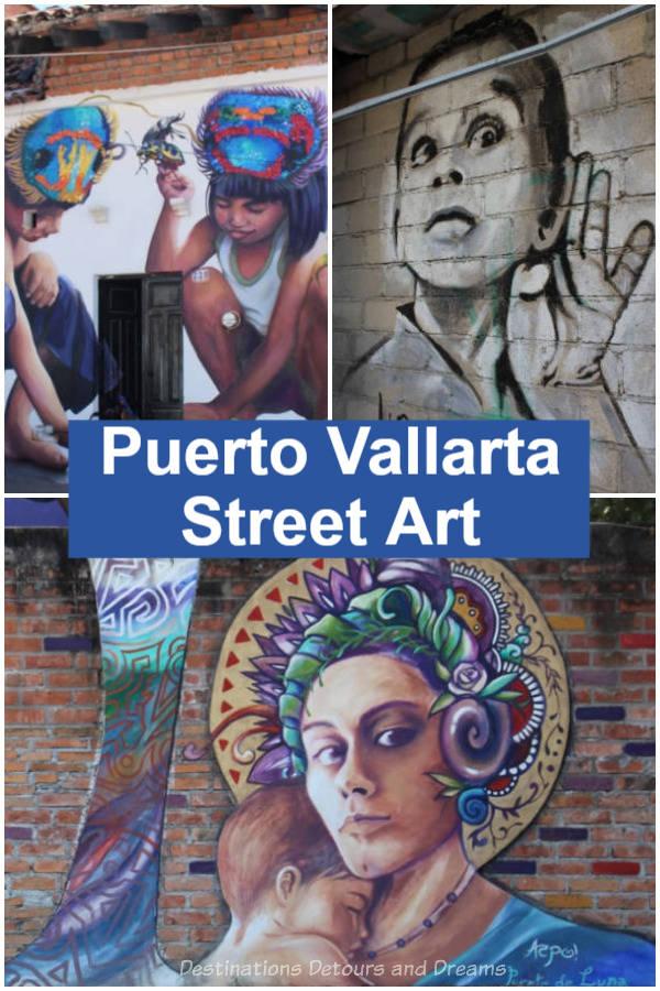 Puerto Vallarta Street Art: the amazing street art in Puerto Vallarta, Mexico