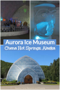 Aurora Ice Museum at Chena Hot Springs Resort: Walls, floors, and everything inside this year-round ice museum in Alaska's interior are made of ice. Ice bedroom, ice bar, ice sculptures, ice cocktail glasses. Located north of Fairbanks.