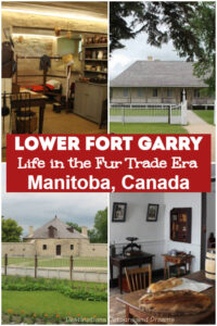 Lower Fort Garry Life in the Fur Trade Era: The restored Lower Fort Garry National Historic Site, near Winnipeg, Manitoba, recreates life in the 1850s fur-trade era