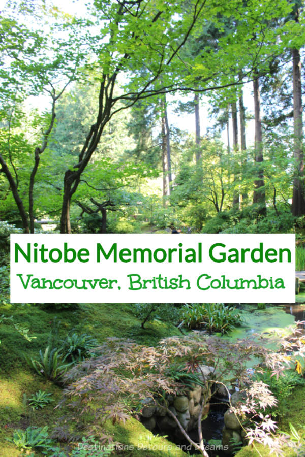 Nitobe Memorial Garden: The Nitobe Memorial Garden on the University of British Columbia campus in Vancouver, British Columbia, Canada is considered to be one of the most authentic Japanese gardens in North America and among the top five outside Japan