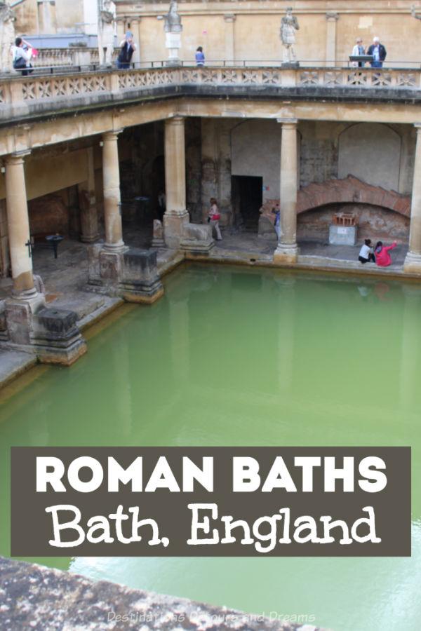 Roman Baths Museum in Bath, England: explore Britain's Roman period at temple ruins