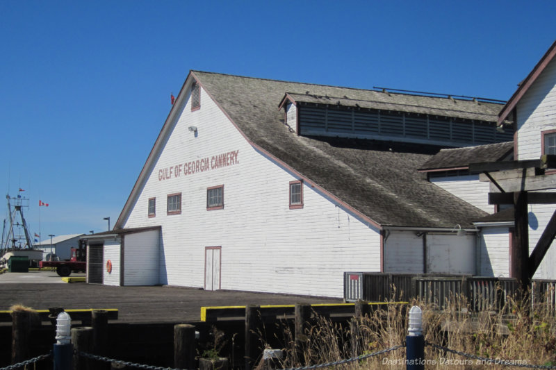 Exterior of Gulf of Georgia Cannery