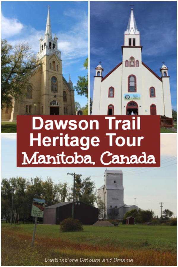 Winnipeg Day Trip: Dawson Trail Heritage Tour. A self-driving tour along a portion of the Dawson Trail in Manitoba explores the historic legacy of the first all-Canadian route linking the early Dominion of Canada to the West.