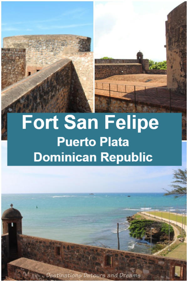 Fort San Felipe in Puerto Plata, Dominican Republic - tour of an old fort in the New World