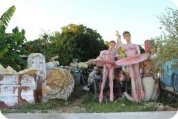 Carnaval Preparations in Pedasi