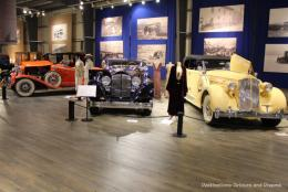 Vintage Transportation and Dress at Fountainhead Auto Museum in Fairbanks