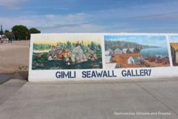 Gimli Seawall Murals