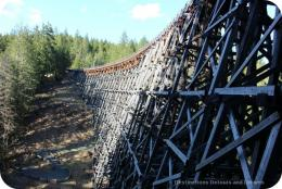 Historic Kinsol Trestle Bridge and Trail