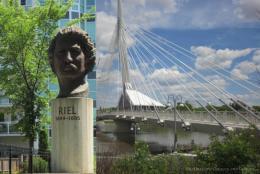 Discovering Louis Riel in Winnipeg, Canada